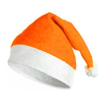 Bonnet Noël Orange