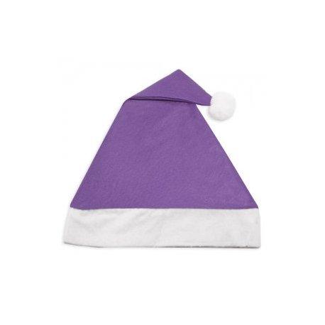 Gorro Navidad Lila