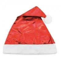 Bonnet Noël Rouge Métallisé