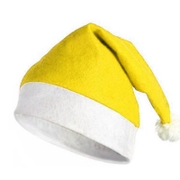 Bonnet Noël Jaune